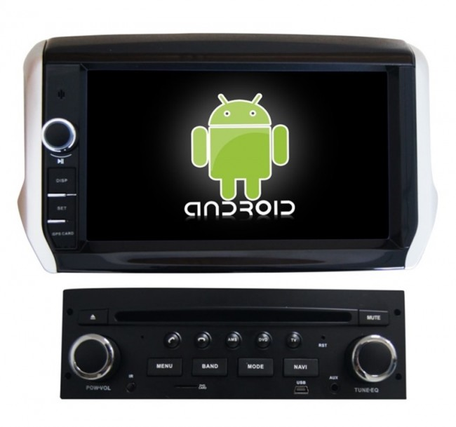 peugeot 208 android 6 0 autoradio dvd gps navigation android 6 0 autoradio lecteur dvd gps. Black Bedroom Furniture Sets. Home Design Ideas