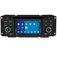 Chrysler Town & Country S160 Android 4.4.4 Autoradio GPS DVD Avec Quad-Core HD Ecran tactile capacitif multi-point Bluetooth GPS TNT Wifi TV DVR MirrorLink - S160 Android 4.4.4 Autoradio Lecteur DVD GPS Compatible pour Chrysler Town & Country (2000-2007)