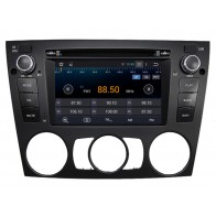 BMW E92 Android Autoradio GPS DVD Bluetooth TNT iPod Wifi USB SD option - Autoradio Multimedia Double Din sous Android 4.4.4 special pour BMW E92 Bluetooth GPS DVD Player (2005-2012)