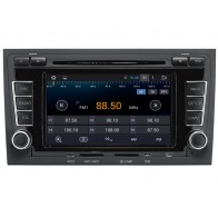 Audi A4 Android 4.4 Autoradio GPS DVD Bluetooth TNT iPod 3G Wifi USB SD option - Autoradio Multimedia Double Din sous Android 4.4.4 special pour Audi A4 Bluetooth GPS Lecteur DVD de voiture (2002-2008)