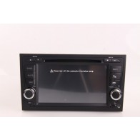 Audi A4 Android 4.0 Autoradio DVD GPS TNT TV iPod Wifi 3G USB SD option - Autoradio Multimedia Double Din sous Android 4.0 special pour Audi A4 Bluetooth GPS Lecteur DVD voiture (2002-2008)