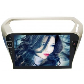 Citroën C-Elysée Android 6.0 Autoradio DVD GPS Navigation avec Ecran tactile Bluetooth Telecommande au Volant Disque Dur Micro RDS CD SD USB 4G Wifi TV MirrorLink OBD2 - Android 6.0 Autoradio Lecteur DVD GPS Compatible pour Citroën C-Elysée
