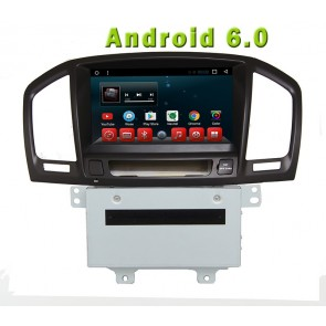 Android 6.0 Autoradio Lecteur DVD GPS Compatible pour Opel Insignia (2009–2013)-1