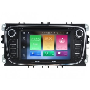 Android 6.0.1 Autoradio Lecteur DVD GPS Compatible pour Ford Galaxy (2010-2014)-1