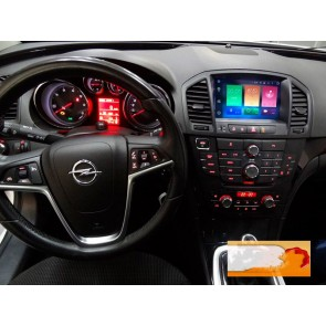 Opel Insignia Android 6.0.1 Autoradio DVD GPS avec Octa Core 2G Ram Ecran tactile Commande au volant et Kit mains libres Bluetooth Micro DAB+ CD 4G Wifi TV MirrorLink OBD2 - Android 6.0.1 Autoradio Lecteur DVD GPS Compatible pour Opel Insignia (2009-2013)