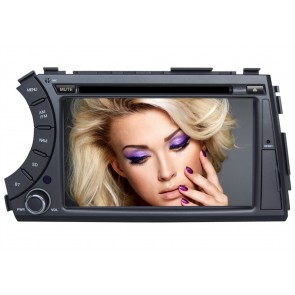Android 6.0 Autoradio Lecteur DVD GPS Compatible pour SsangYong Actyon Sports (2005-2015)-1