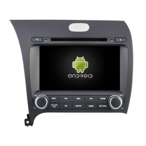 Kia Forte Android 6.0.1 Autoradio DVD GPS avec Octa Core 2G Ram Ecran tactile Commande au volant et Kit mains libres Bluetooth Micro DAB+ CD USB 4G Wifi TV MirrorLink OBD2 - Android 6.0.1 Autoradio Lecteur DVD GPS Compatible pour Kia Forte (De 2013)
