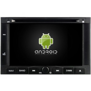 Citroën Jumpy Android 6.0.1 Autoradio DVD GPS avec Octa Core 2G Ram Ecran tactile Commande au volant et Kit mains libres Bluetooth Micro DAB+ USB 4G Wifi TV MirrorLink OBD2 - Android 6.0.1 Autoradio Lecteur DVD GPS Compatible pour Citroën Jumpy (De 2007)