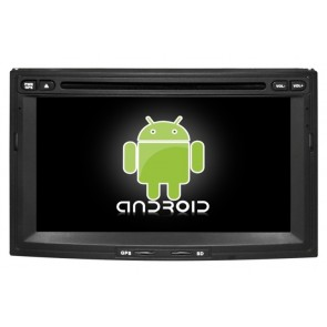 Citroën Jumpy Android 6.0 Autoradio DVD GPS Navigation avec Ecran tactile Bluetooth Telecommande au Volant Disque Dur Micro RDS CD SD USB 4G Wifi TV MirrorLink OBD2 - Android 6.0 Autoradio Lecteur DVD GPS Compatible pour Citroën Jumpy (De 2007)