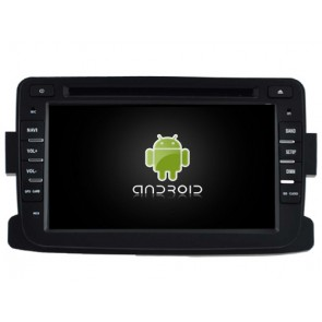 Renault Lodgy Android 6.0.1 Autoradio DVD GPS avec Octa Core 2G Ram Ecran tactile Commande au volant et Kit mains libres Bluetooth Micro DAB+ CD USB 4G Wifi TV MirrorLink OBD2 - Android 6.0.1 Autoradio Lecteur DVD GPS Compatible pour Renault Lodgy