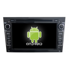 Opel Zafira Android 6.0 Autoradio DVD GPS Navigation avec Ecran tactile Bluetooth Telecommande au Volant Disque Dur Micro RDS CD SD USB 4G Wifi TV MirrorLink OBD2 - Android 6.0 Autoradio Lecteur DVD GPS Compatible pour Opel Zafira (2005-2011)