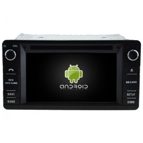 Mitsubishi Pajero IV Android 7.1 Autoradio DVD GPS avec 2G Ram Ecran tactile Commande au volant et Kit mains libres Bluetooth Micro DAB+ CD SD USB 4G Wifi TV MirrorLink OBD2 - Android 7.1.1 Autoradio Lecteur DVD GPS Compatible pour Mitsubishi Pajero IV