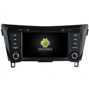 Nissan X-trail Android 7.1 Autoradio DVD GPS avec 2G Ram Ecran tactile Commande au volant et Kit mains libres Bluetooth Micro DAB+ CD SD USB 4G Wifi TV MirrorLink OBD2 - Android 7.1.1 Autoradio Lecteur DVD GPS Compatible pour Nissan X-trail (De 2014)
