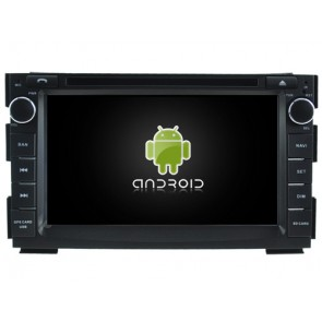 Kia Ceed Android 7.1 Autoradio DVD GPS avec 2G Ram Ecran tactile Commande au volant et Kit mains libres Bluetooth Micro DAB+ CD SD USB 4G Wifi TV MirrorLink OBD2 - Android 7.1.1 Autoradio Lecteur DVD GPS Compatible pour Kia Ceed (2009-2013)