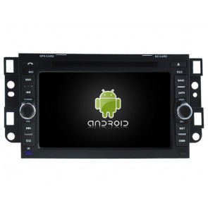 Chevrolet Traverse Android 7.1 Autoradio DVD GPS avec 2G Ram Ecran tactile Commande au volant et Kit mains libres Bluetooth Micro DAB+ CD SD USB 4G Wifi TV MirrorLink OBD2 - Android 7.1.1 Autoradio Lecteur DVD GPS Compatible pour Chevrolet Traverse