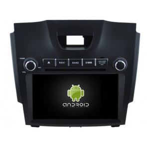 Chevrolet Colorado Android 7.1 Autoradio DVD GPS avec 2G Ram Ecran tactile Commande au volant et Kit mains libres Bluetooth Micro DAB+ CD USB 4G Wifi TV MirrorLink OBD2 - Android 7.1.1 Autoradio Lecteur DVD GPS Compatible pour Chevrolet Colorado (De 2012)