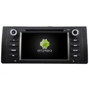 BMW M5 Android 7.1 Autoradio DVD GPS avec 2G Ram Ecran tactile Commande au volant et Kit mains libres Bluetooth Micro DAB+ CD SD USB 4G Wifi TV MirrorLink OBD2 - Android 7.1.1 Autoradio Lecteur DVD GPS Compatible pour BMW M5 (1995-2003)