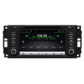 Dodge Challenger S160 Android 4.4.4 Autoradio GPS DVD avec HD Ecran tactile Support Smartphone Bluetooth kit main libre Microphone RDS CD SD USB Wifi TV MirrorLink - S160 Android 4.4.4 Autoradio Lecteur DVD GPS Compatible pour Dodge Challenger (2008-2014)