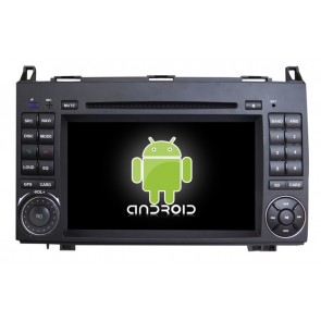 Mercedes Sprinter Android 6.0 Autoradio DVD GPS Navigation avec Ecran tactile Bluetooth Telecommande au Volant Disque Dur Micro RDS CD SD USB 4G Wifi TV MirrorLink OBD2 - Android 6.0 Autoradio Lecteur DVD GPS Compatible pour Mercedes Sprinter (2006-2013)