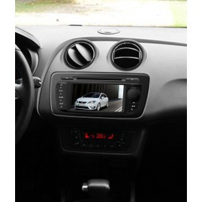 Seat Ibiza S160 Android 4.4.4 Autoradio GPS DVD avec HD Ecran tactile Support Smartphone Bluetooth kit main libre Microphone RDS CD SD USB 3G Wifi TV MirrorLink - S160 Android 4.4.4 Autoradio Lecteur DVD GPS Compatible pour Seat Ibiza (2008-2015)
