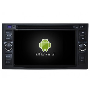 Kia Sportage Android 7.1 Autoradio DVD GPS avec 2G Ram Ecran tactile Commande au volant et Kit mains libres Bluetooth Micro DAB+ CD SD USB 4G Wifi TV MirrorLink OBD2 - Android 7.1.1 Autoradio Lecteur DVD GPS Compatible pour Kia Sportage (2004-2010)
