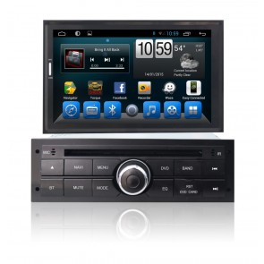 Mitsubishi Nativa Android 6.0 Autoradio DVD GPS Navigation avec Ecran tactile Bluetooth Telecommande au Volant Disque Dur Micro RDS CD SD USB 3G Wifi TV MirrorLink OBD2 - Android 6.0.1 Autoradio Lecteur DVD GPS Compatible pour Mitsubishi Nativa (2009-2012
