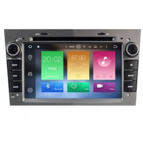 Android 6.0.1 Autoradio Lecteur DVD GPS Compatible pour Opel Astra H (2004-2011)-1