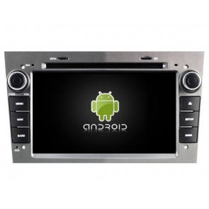 Opel Astra H Android 6.0.1 Autoradio DVD GPS avec Octa Core 2G Ram Ecran tactile Commande au volant et Kit mains libres Bluetooth Micro DAB+ USB 4G Wifi TV MirrorLink OBD2 - Android 6.0.1 Autoradio Lecteur DVD GPS Compatible pour Opel Astra H (2004-2011)
