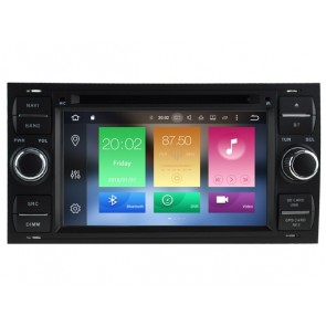 Android 6.0.1 Autoradio Lecteur DVD GPS Compatible pour Ford Fiesta (2005-2008)-1