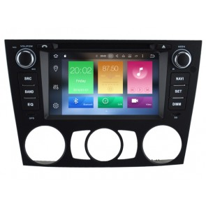 BMW Série 3 E91 Android 6.0.1 Autoradio DVD GPS avec Octa Core 2G Ram Ecran tactile Commande au volant et Kit mains libres Bluetooth Micro DAB+ CD SD USB 4G Wifi TV MirrorLink OBD2 - Android 6.0.1 Autoradio Lecteur DVD GPS Compatible pour BMW Série 3 E91