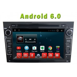 Android 6.0 Autoradio Lecteur DVD GPS Compatible pour Opel Zafira (2005-2011)-1