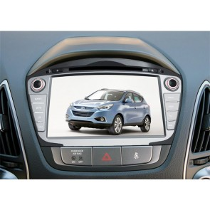 Hyundai Tucson S160 Android 4.4.4 Autoradio GPS DVD avec HD Ecran tactile Support Smartphone Bluetooth kit main libre Microphone RDS CD SD USB 3G Wifi TV MirrorLink - S160 Android 4.4.4 Autoradio Lecteur DVD GPS Compatible pour Hyundai Tucson (2014-2015)