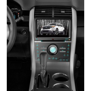 Ford Edge S160 Android 4.4.4 Autoradio GPS DVD avec HD Ecran tactile Support Smartphone Bluetooth kit main libre Microphone RDS CD SD USB 3G Wifi TV MirrorLink - S160 Android 4.4.4 Autoradio Lecteur DVD GPS Compatible pour Ford Edge (De 2013)