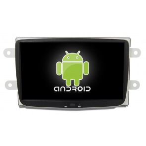 Renault Lodgy Android 6.0 Autoradio DVD GPS Navigation avec Ecran tactile Bluetooth Telecommande au Volant Disque Dur Micro RDS CD SD USB 4G Wifi TV MirrorLink OBD2 - Android 6.0 Autoradio Lecteur DVD GPS Compatible pour Renault Lodgy (De 2012)