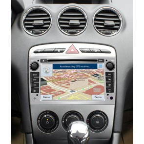 Peugeot 308 S160 Android 4.4.4 Autoradio GPS DVD avec HD Ecran tactile Support Smartphone Bluetooth kit main libre Microphone RDS CD SD USB 3G Wifi TV MirrorLink - S160 Android 4.4.4 Autoradio Lecteur DVD GPS Compatible pour Peugeot 308 (2007-2013)
