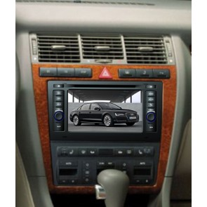 Audi A8 S160 Android 4.4.4 Autoradio GPS DVD avec HD Ecran tactile Support Smartphone Bluetooth kit main libre Microphone RDS CD SD USB 3G Wifi TV MirrorLink - S160 Android 4.4.4 Autoradio Lecteur DVD GPS Compatible pour Audi A8 (1994-2003)