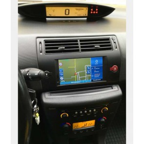 Citroën C4 S160 Android 4.4.4 Autoradio GPS DVD avec HD Ecran tactile Support Smartphone Bluetooth kit main libre Microphone RDS CD SD USB 3G Wifi TV MirrorLink - S160 Android 4.4.4 Autoradio Lecteur DVD GPS Compatible pour Citroën C4 (2004-2011)