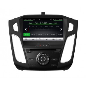 Ford Focus S160 Android 4.4.4 Autoradio GPS DVD avec HD Ecran tactile Support Smartphone Bluetooth kit main libre Microphone RDS CD SD USB 3G Wifi TV MirrorLink - S160 Android 4.4.4 Autoradio Lecteur DVD GPS Compatible pour Ford Focus (De 2015)