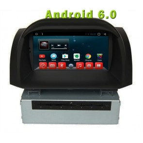 Android 6.0 Autoradio Lecteur DVD GPS Compatible pour Ford Fiesta (2011-2016)-1