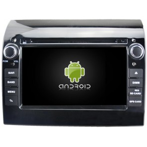 Fiat Ducato Android 6.0.1 Autoradio DVD GPS avec Octa Core 2G Ram Ecran tactile Commande au volant et Kit mains libres Bluetooth Micro DAB+ CD USB 4G Wifi TV MirrorLink OBD2 - Android 6.0.1 Autoradio Lecteur DVD GPS Compatible pour Fiat Ducato