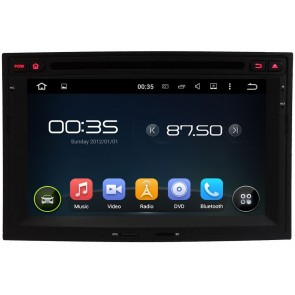 Citroën Berlingo Android 5.1.1 Autoradio DVD GPS Navigation avec Ecran tactile Bluetooth Parrot Telecommande au Volant DAB+ Microphone RDS CD SD USB 3G Wifi TV MirrorLink OBD2 - Android 5.1.1 Autoradio Lecteur DVD GPS Compatible pour Citroën Berlingo