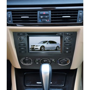 BMW Série 3 E91 S160 Android 4.4.4 Autoradio GPS DVD avec HD Ecran tactile Support Smartphone Bluetooth kit main libre Microphone RDS CD SD USB 3G Wifi TV MirrorLink - S160 Android 4.4.4 Autoradio Lecteur DVD GPS Compatible pour BMW Série 3 E91