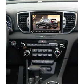 Kia Sportage S160 Android 4.4.4 Autoradio GPS DVD avec HD Ecran tactile Support Smartphone Bluetooth kit main libre Microphone RDS CD SD USB 3G Wifi TV MirrorLink - S160 Android 4.4.4 Autoradio Lecteur DVD GPS Compatible pour Kia Sportage (De 2016)