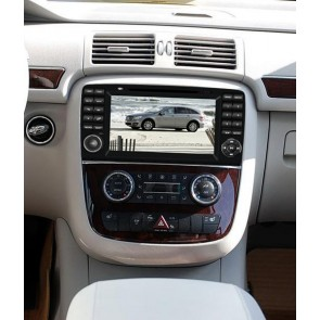 Mercedes W251 S160 Android 4.4.4 Autoradio GPS DVD avec HD Ecran tactile Support Smartphone Bluetooth kit main libre Microphone RDS CD SD USB 3G Wifi TV MirrorLink - S160 Android 4.4.4 Autoradio Lecteur DVD GPS Compatible pour Mercedes Classe R W251