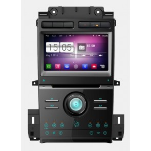 S160 Android 4.4.4 Autoradio Lecteur DVD GPS Compatible pour Ford Taurus (2012-2016)-1