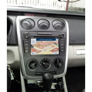 Mazda CX-7 S160 Android 4.4.4 Autoradio GPS DVD avec HD Ecran tactile Support Smartphone Bluetooth kit main libre Microphone RDS CD SD USB 3G Wifi TV MirrorLink - S160 Android 4.4.4 Autoradio Lecteur DVD GPS Compatible pour Mazda CX-7 (2007-2013)