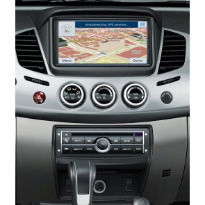 Mitsubishi L200 S160 Android 4.4.4 Autoradio GPS DVD avec HD Ecran tactile Support Smartphone Bluetooth kit main libre Microphone RDS CD SD USB 3G Wifi TV MirrorLink - S160 Android 4.4.4 Autoradio Lecteur DVD GPS Compatible pour Mitsubishi L200 (2009-2014