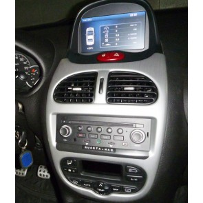 Peugeot 206 S160 Android 4.4.4 Autoradio GPS DVD avec HD Ecran tactile Support Smartphone Bluetooth kit main libre Microphone RDS CD SD USB 3G Wifi TV MirrorLink - S160 Android 4.4.4 Autoradio Lecteur DVD GPS Compatible pour Peugeot 206