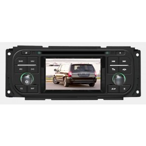 S160 Android 4.4.4 Autoradio Lecteur DVD GPS Compatible pour Chrysler Town & Country (2000-2007)-1