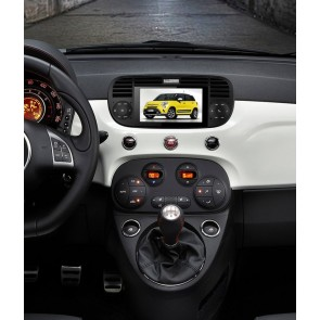Fiat 500 Abarth S160 Android 4.4.4 Autoradio GPS DVD avec HD Ecran tactile Support Smartphone Bluetooth kit main libre Microphone RDS CD SD USB 3G Wifi TV MirrorLink - S160 Android 4.4.4 Autoradio Lecteur DVD GPS Compatible pour Fiat 500 Abarth